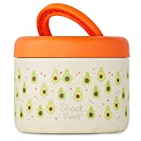 S'nack by S'well Stainless Steel Food Container - 24 Fl Oz - Avocado - Double-Layered Insulated...