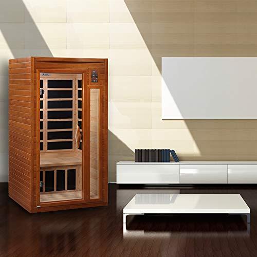 2021 Dynamic Barcelona DYN-6106-01 Low EMF (Under 8 MG) FAR Infrared Sauna - Curb Side Delivery