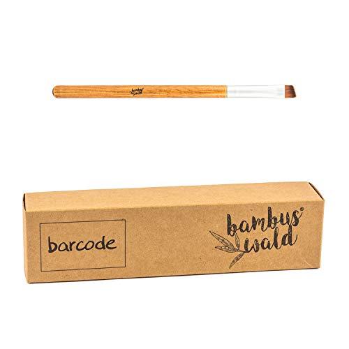 Pinceau de maquillage professionnel en bambou et poils synthétiques - Pinceau à sourcils | Pinceau de maquillage Set Pinceaux cosmétiques