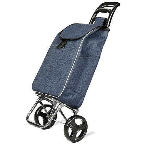 XXHDEE Elegante, opvouwbare kinderwagen, draagbaar, met grote capaciteit, afneembare stapelstoel