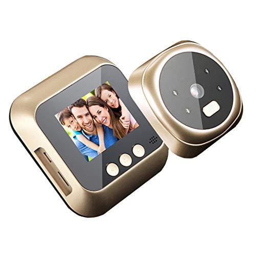 Digitale Türspion Kamera mit Infrarot-Nachtsicht und Bewegungserkennung, 2,8 Zoll LCD Bildschirm, Weitwinkel 160° - Typ 2