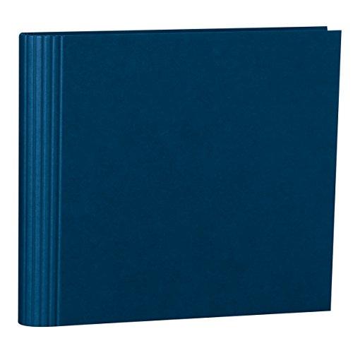 Semikolon (353284) Fotomappe 23 Ring marine (blau) -Mit Efalinbezug - Basis für Foto-Album oder Fotobuch mit Ringheftung - Format: 35 × 32 cm