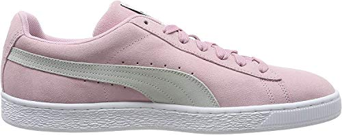 Puma Unisex-Erwachsene Suede Classic Sneaker, Rosa (Pale Pink White), 40 EU