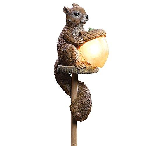 Solar Squirrel Stake Light