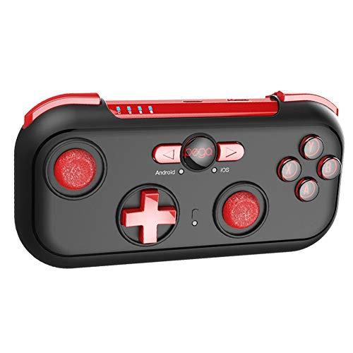 DZSF Mini Controlador de Juego inalámbrico Bluetooth Gamepad para Android iOS Nintendo Switch Win7 / 8/10 Joystick