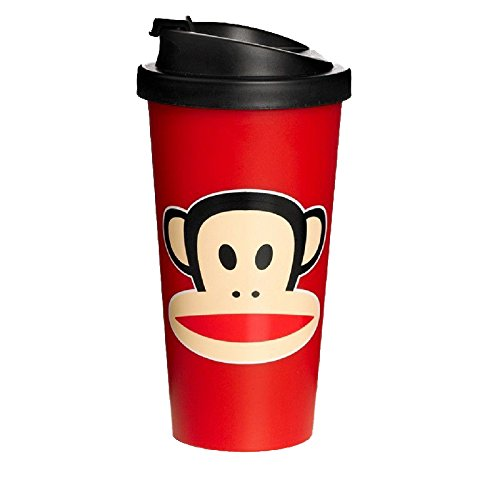 Paul Frank To Go Cup Red, Rojo, 9.5 cm