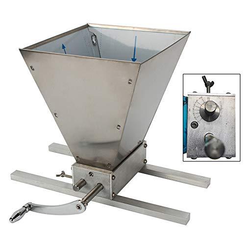 Getreidemühle Schrotmühle Malzmühle 2 Rollen Futtermühle Maismühle Grainmühle mit Edelstahlwalzen Nassfräsen möglich