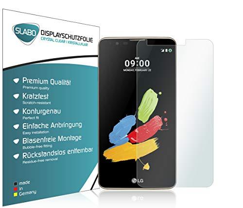 Slabo 2 x Bildschirmfolie für LG Stylus 2 Bildschirmschutzfolie Zubehör Crystal Clear KLAR