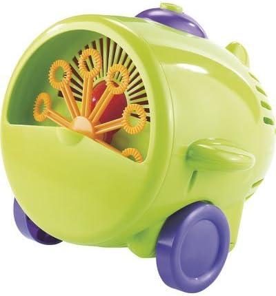 Infactory Maquina de Burbujas: Máquina de Burbujas de jabón con un Divertido Look de Aviador (Maquina de Burbujas niños)