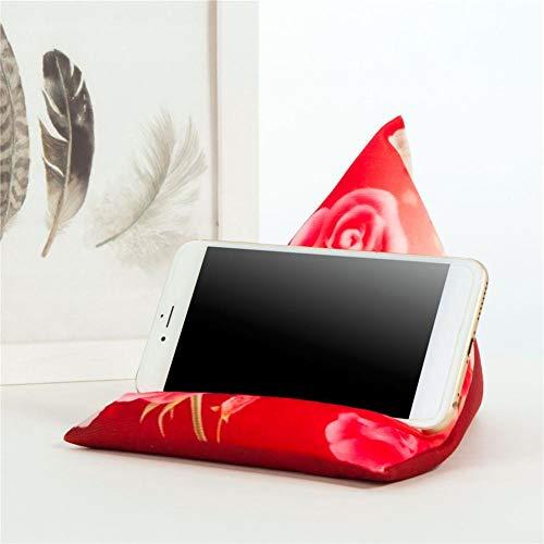 Tablet Kissen Kissenhalter Stand Kissenständer Multi-Angle Soft Pillow Lap Stand Mobile Halterung Für Tablets E-Reader Smartphones Bücher Und Zeitschriften Für Bett Boden Schreibtisch Sofa Couch Lesen
