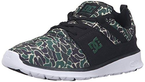 DC Shoes DC Damen Heathrow SE Schuhe, Schwarz (Camouflage schwarz), 34 EU