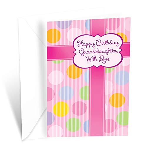 Prime Greetings Happy Birthday Card Granddaughter