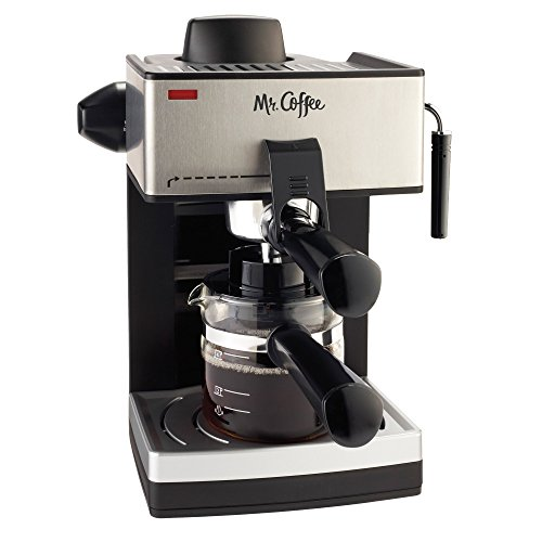 Mr. Coffee 4-Cup Steam Espresso System with Milk...