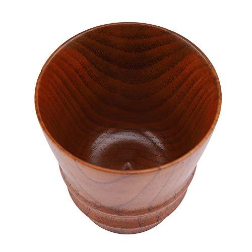 Caneca de café ecológica, xícaras de café de grãos de madeira, multifunções de madeira para café de água potável(Big paint color)