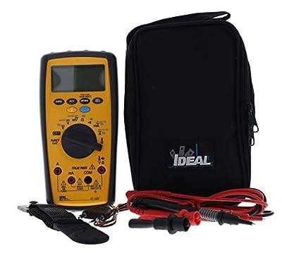 Ideal Industries Test-Pro Digital Multi-Meter with Temp, Cap
