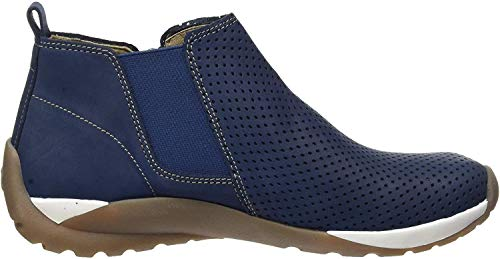 camel active Damen Moonlight Stiefeletten, Blau (jeans 01), 37.5 EU (4.5 UK)