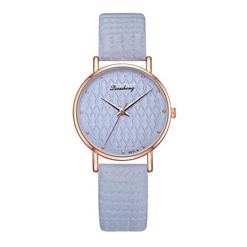 Reloj Relojes mujeres banda de cuero de lujo relojes de cuarzo del reloj del reloj de las muchachas de las señoras por aniversario de boda regalo de cumpleaños de graduación for el amor Amigo
