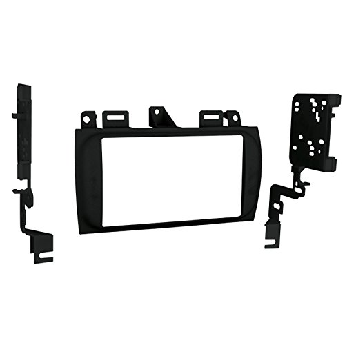 Metra 95-2005B Double DIN Installation Dash Kit for Select 1996-Up Cadillac Vehicles (Black)