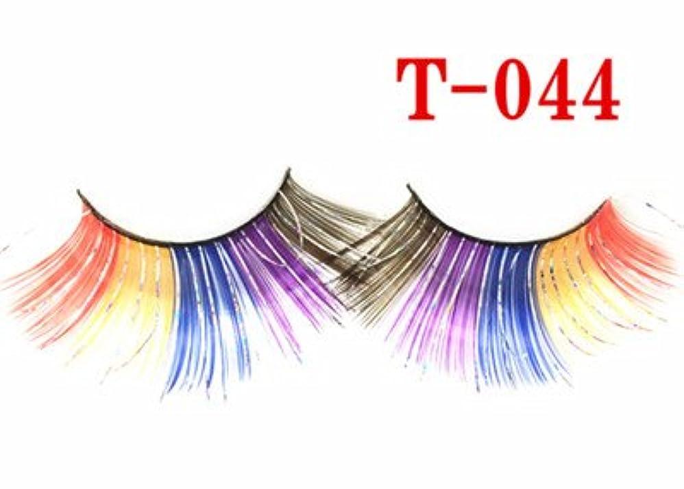 奨励します毎日記念品T-044 お洒落つけまつ毛 舞台つけまつ毛 付けまつげ