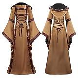 Etoilemer Vestido Medieval para Mujer, Disfraces renacentistas, Vestido de Pr...