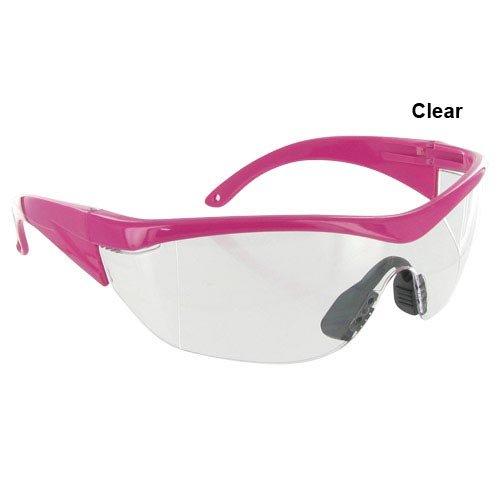 Safety Girl Navigator Safety Glasses - Pink Clear