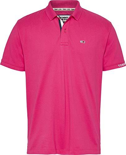 Tommy Jeans TJM Merk Rib Polo Shirt voor heren