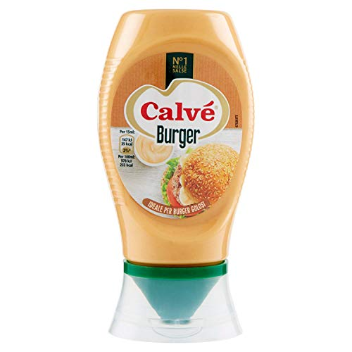 Calvé - Salsa, Burger - 260 G 250 Ml