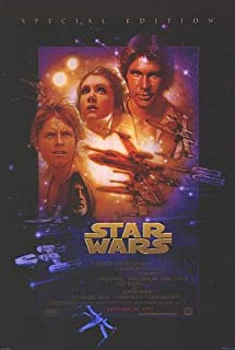 Star Wars Special Edition 1997 Movie Poster Double Sided Original 27x40