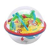 Okuyonic Laberinto esférico 3D, 1 Pieza fácil de Llevar Adecuado para niños Mayores de 3 años