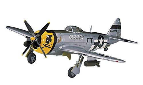 ハセガワ 1/72 アメリカ陸軍 P-47D サンダーボルト プラモデル A8