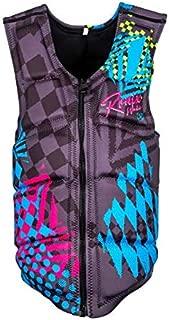 Ronix Party Athletic Cut - Impact Vest - Black/Pink/Blue (2020)