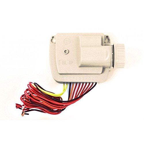 Solem BL-IP1 9 V Batteriebetriebener Bewässerungscomputer mit Bluetooth-Verbindung bis zu 10 Meter Reichweite, wasserdicht für 1 Jahreszeit, Weiß, 14 x 9 x 5,5 cm