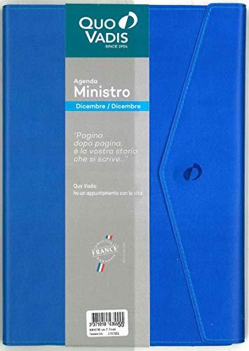 QUO VADIS 01579620MQ MINISTRO rub IT Clover Toscana blu naut 16x24 blu nautico - Anno 2020 -