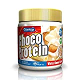 Quamtrax Choco Protein - Crema de Chocolate Blanco Sin Aceite de Palma 250 gr - Chocolate blanco