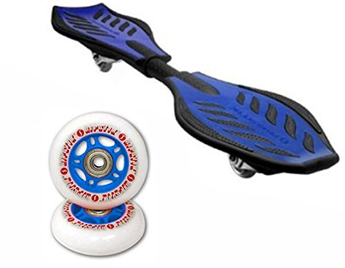 Razor RipStik Caster Board Value Pack With Extra Wheels Blue