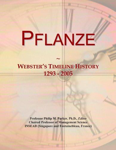 Pflanze: Webster's Timeline History, 1293 - 2005