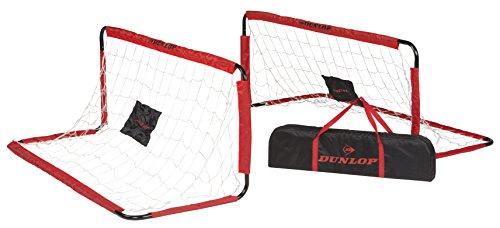 Dunlop Fußballtore, rot/Schwarz, 150 x 60 x 60 cm