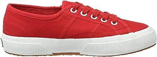 Superga 2750 Cotu Classic, Unisex-Erwachsene Sneaker, Rot (red-white), 42 EU (8 UK)