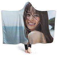 泉りか (1) かわいい ソファーの毛布 エアコン対策 昼寝毛布 静電気防止 多用途 ブランケット 暖かい おしゃれのプレゼント カスタマイズ可能 模様を刷り込む 掛け毛布