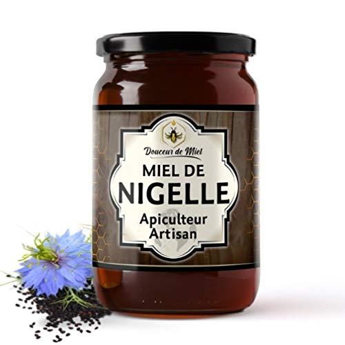 Miel de Fleurs de Nigelle | Bienfaits multiples | Pot de 250g