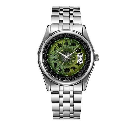 Luxury Men's Watch 30m Waterproof Date Clock Male Sports Watches Men Quartz Casual Christmas Wrist Watch Celtic Good Luck Charms Watch