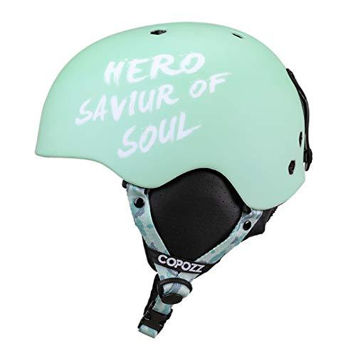 H-MetHlonsy Casco de protección de Ciclismo de Carretera MTB de montaña Moldeado integralmente Accesorios Deportivos Light Blue Hero L