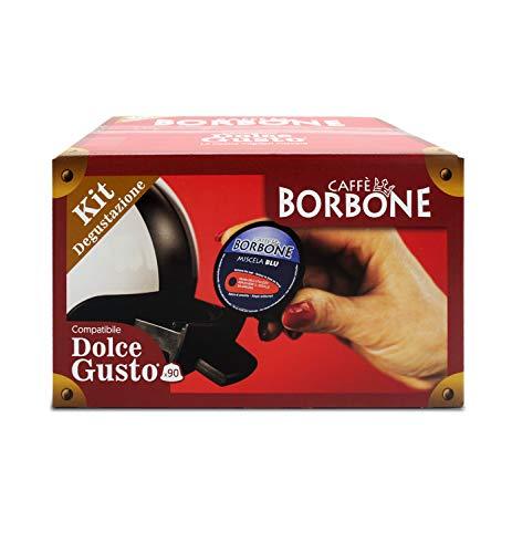 Caffè Borbone Kit Degustazione - Compatibili Nescafè Dolce Gusto, 90 Capsule