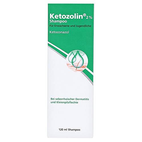 KETOZOLIN 2% Shampoo 120 Milliliter
