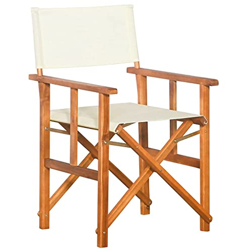 Xkun director plegable silla de salón perro silla plegable al aire libre silla de madera