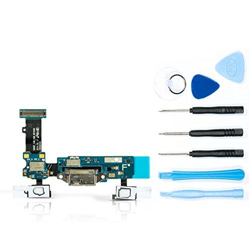 teparto USB Ladebuchse für Samsung Galaxy S5 - SM-G900F mit Werkzeugset