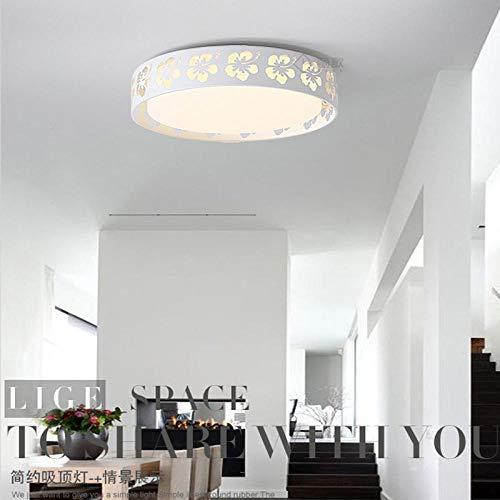 LED-Deckenleuchte in Form einer Blume aus Schmiedeeisen, warm, personalisierbar Tri-color Dimming Without Remote Control