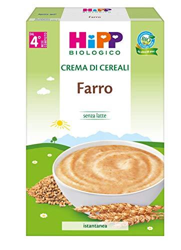 Hipp - Crema Di Cereali Bio, Farro, 6 Confezioni da 200 G - 1200 g