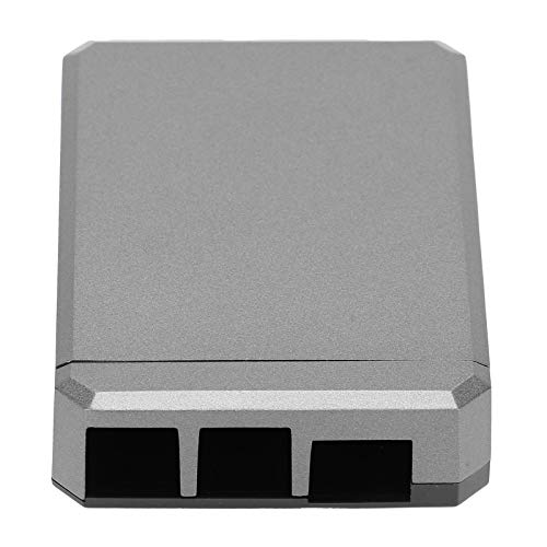 Aluminum Alloy Case Passive Cooling Protective Box Small Durable Lightweight Aluminum Alloy Box Compatible with Raspberry Pi Cooling Shell