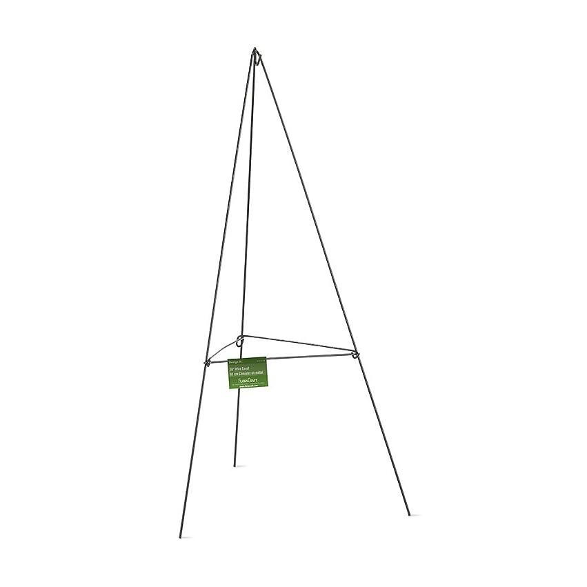 過去成長する熟達したFloraCraft ワイヤーイーゼル 36インチ グリーン